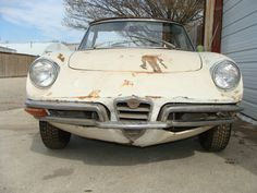 1970 Alfa Romeo Boat Tail Spider Project