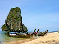 Longtail boat, Krabi, Thailand Krabi Thailand, Boat, Travel, Dinghy, Boats, Ship
