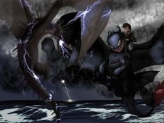 Real Baby Dragons | The Night Fury vs the Skrill (HTTYD2 webnovel ch2) by inhonoredglory ...