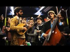 The IndieCity Corner: A surprise concert at Jerusalem's light train by sumsum band!  אינדי סיטי -סומסום Sumsum - אלטה זוי - YouTube