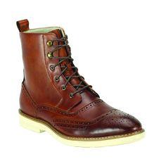 Refurbished Giovanni Men's EVA Sole Oxford Boots
