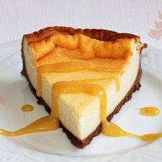 Gâteau au fromage blanc, crème de calisson