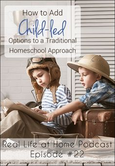How to Add Child-Led Options to a Traditional Homeschool Approach