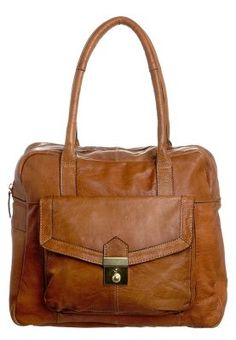 Brown leather handbag. £99.95