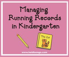 Running Records in Kinder
