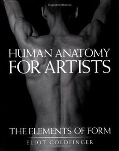 Human Anatomy for Artists: The Elements of Form by Eliot Goldfinger, http://www.amazon.com/dp/0195052064/ref=cm_sw_r_pi_dp_9xPhtb0MA1J9S