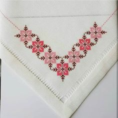 Ayse guzyaka adlı kullanıcının kaneviceler panosundaki pin c Cross Stitch Fruit, Cross Stitch Borders, Cross Stitch Flowers, Cross Stitch Designs, Cross Stitching, Cross Stitch Embroidery, Cross Stitch Patterns, Beading Patterns, Embroidery Patterns