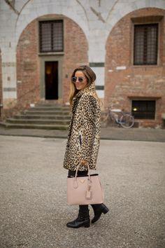 Leopard Coat - Gal Meets Glam