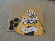 """""""Your the Bees Knees"""" stamp set www.maymaymadeit.com"""
