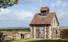 Wikipedia picture of the day on May 7 2016:  The mid-19th century Charnel House located in a corner of the graveyard at St Helens Church in Cliffe Kent England. Until the start of the twentieth century it was used as a make-shift mortuary for bodies pulled out of the nearby Thames Estuary. It is now classified as a Grade II listed building by English Heritage. Learn more.