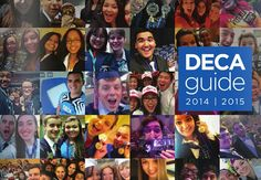 2014-2015 DECA Guide: High School  Jillian Drury and I are on the cover *GASP*