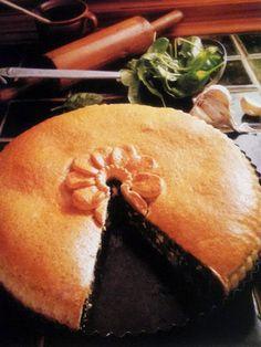 Ricette e Segreti in Cucina : Spanakopita : torta di spinaci alla greca.