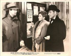 Cary Grant, Jean Arthur and Ronald Colman. The Talk of Town 1942 by george Stevens