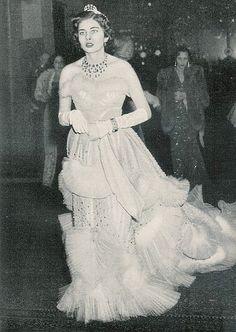 Princess Soraya in a Dior Dress, 1951.
