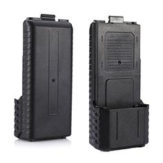 iSaddle Battery Case (6x AA Battery) for TYT F8 Baofeng UV-5R Plus UV-5R UV-5RB UV-5RE UV-5RA. Handy and Convenient. Easy to use. Using Battery: 6 AA NiMh/ NiCd cells or 5 AA Alkaline/ Zinc Carbon cells + One dummy AA. If install 6 AA Alkaline or Zinc Carbon cells, the receiver works but the radio won't transmit. Case only, batteries are not included.