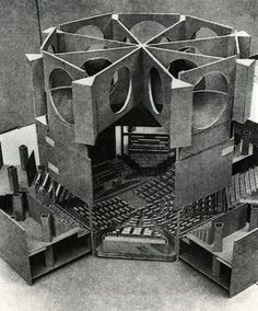 Louis Kahn - National assembly building of Bangladesh. Dakha, Bangladesh. 1964-1982