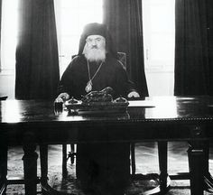Archbishop Damaskinos Papandreou was born Dimitrios Papandreou in Dorvitsa, Greece in 1890. He enlisted in the Greek army during the Balkan Wars. Ordained a priest of the Greek Orthodox Church in 1917, he was appointed archbishop of Athens in 1941. During the Holocaust, Archbishop Damaskinos and Athens police chief Angelos Evert saved thousands of Greek Jews.