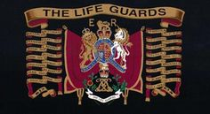 The Life Guards Military Flags, Military Units, Military History, Queens Guard, Drums Art, Drum Major, Flags Of The World, Lifeguard, British Army