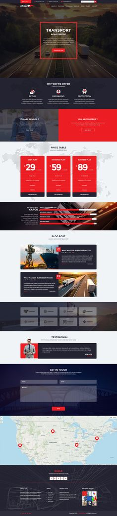 Transportation Theme, Web Design, Design Ideas, Corporate Business, Page Layout, Wordpress Theme, The Incredibles, Website, Website Designs