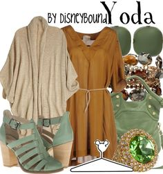 Wear this Yoda outfit to Walt Disney World Star Wars Weekends. | Disney Fashion…