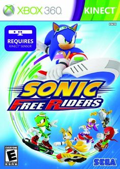 Sonic Free Riders  Xbox 360 -- Find out more about the great product at the image link.