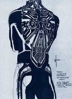 Syd Mead - Clu concept art