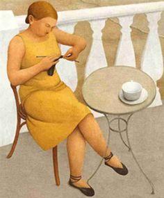 "almagra32: ""The Knit club"""