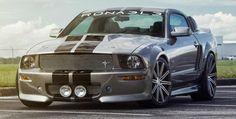Ford Mustang GT 550 R Eleanor on Vossen VVS-CV4