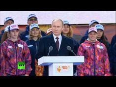 Путин: «Олимпиада стала нашим общим делом, нашей общей мечтой»