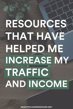 Sharing the techniques, tools, and resources that have helped me increase my traffic and income.