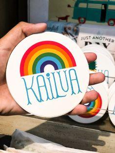 Happy Aloha Friday from Kailua! 🤙🏽 Coasters bought at Sand People Kailua. Oahu Beaches, Aloha Friday, Coasters, Happy, People, Coaster, Ser Feliz, People Illustration, Folk