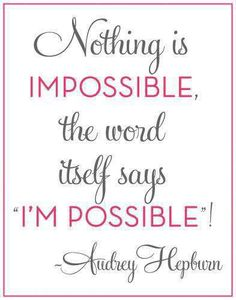 Impossible/I'm Possible