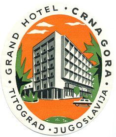 https://flic.kr/p/d9Em64 | Untitled | jugoslavia titograd grand hotel crna gora