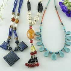 Summer Special Offer Price 3 Pcs Together Necklace $23,90