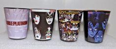 KISS Rock Legends Shot Glass Collection Set of 4 #ShotGlasses