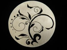 Pierced Pendant with Michael David Sturlin