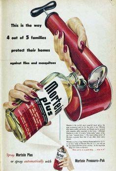 Mortein Plus Australia 1950s