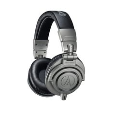 Audio-Technica Professional Studio Monitor Headphones - Black for sale online Studio Headphones, Over Ear Headphones, Monitor, Top Audio, Sound Isolation, Recording Equipment, Best Dj, Headset, Cell Phone Accessories