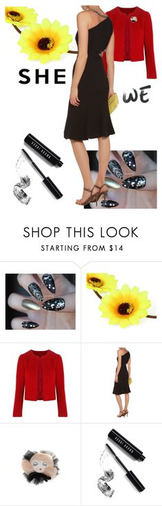 """""""Impressive"""" by black-wings ❤ liked on Polyvore featuring Related, Notte by Marchesa, Morgan Lane and Bobbi Brown Cosmetics"""