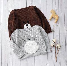 Children Pullover Crochet Pattern