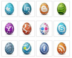 #HappyEaster! Here are cool #SocialMedia Easter Eggs! =)