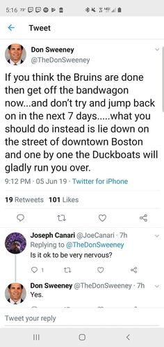 Downtown Boston, Boston Bruins, Got Off