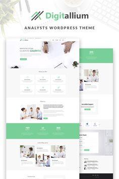 Digitalium - Marketing Agency WordPress Theme #66957