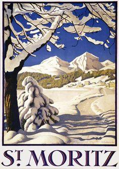 Plinio Colombi, St. Moritz, 1929