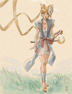 Sailor Samurai - for Character Design Challenge !
