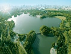 #TraveIInspiration WH Ming Hotel, Shanghai in China. Overlooking the green of Huangxing Park, yet in the centre of the bustling, frenetic city of Shanghai. Fabulous views of the park, two tremendous restaurants, a spa and a choice of relaxing lounges are just a few reasons why this pleasing addition to the city is a must. http://www.slh.com/hotels/wh-ming-hotel-shanghai/