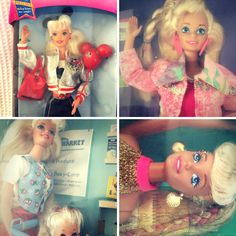 HAVE a peek at some of the 90s Barbie™️ dolls I'll be uploading to eBay.