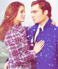 A Great Photo of The Inseparable Chuck Bass & Blair Waldorf