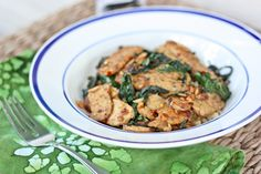 Kale and Tempeh with Coconut Aminos