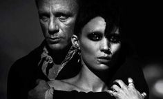 The Girl With the Dragon Tattoo  Daniel Craig and Rooney Mara rockin the look